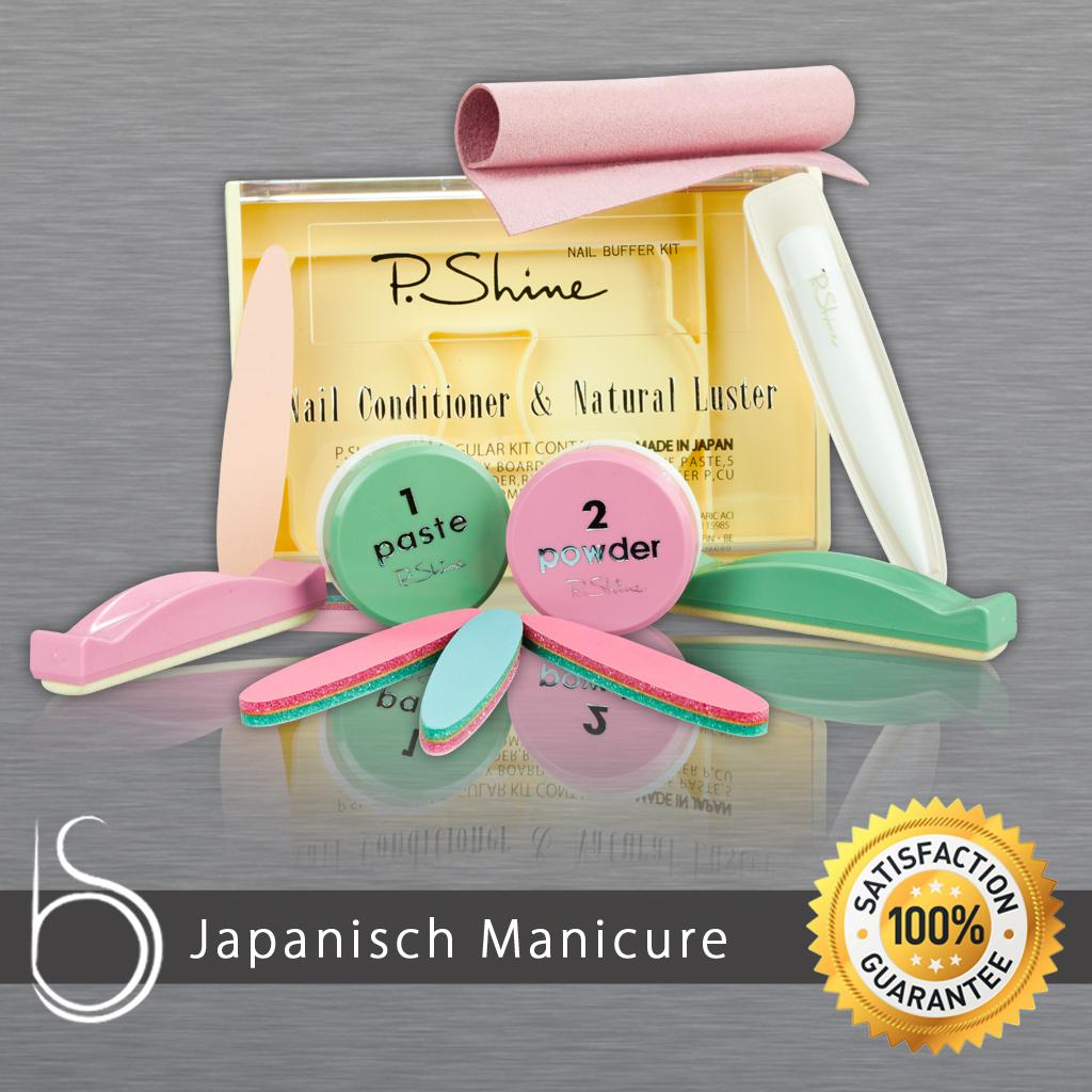 japanische manik re xl p shine manik re sets zubeh r. Black Bedroom Furniture Sets. Home Design Ideas